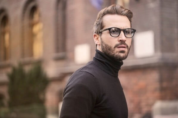 Beard eyewear face 874158